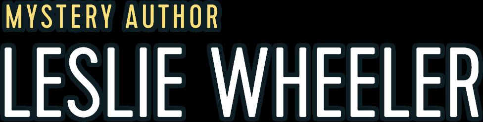 Leslie Wheeler Mystery Author